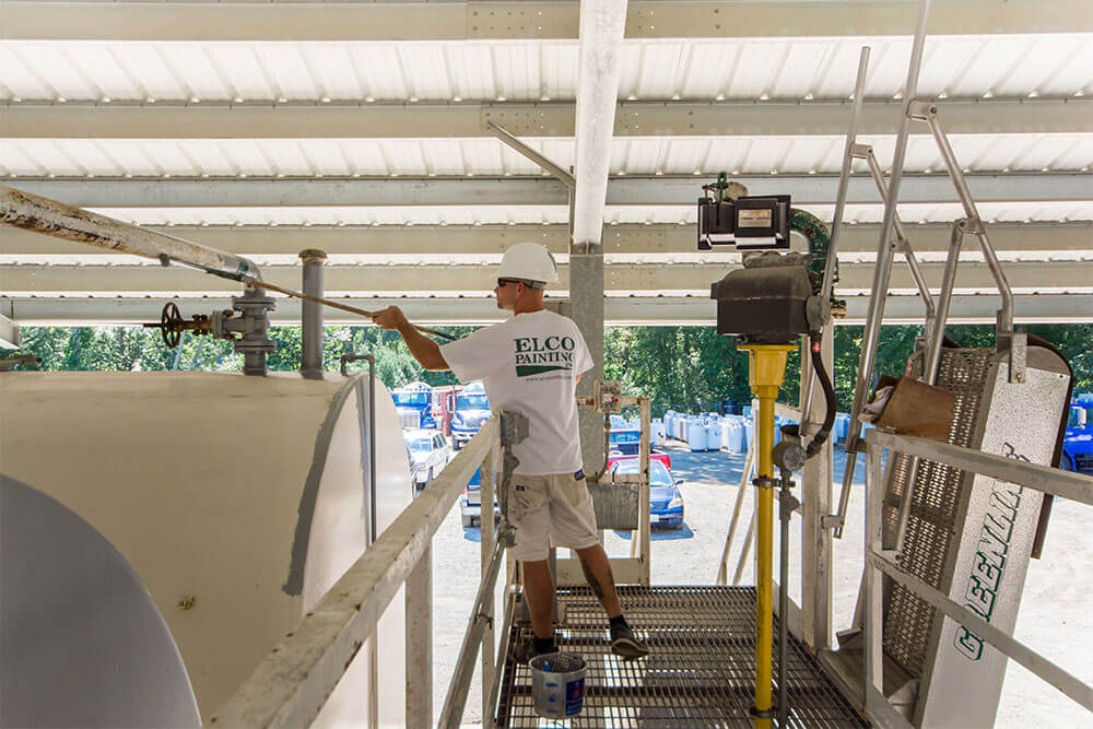 ELCO Painting industrial exterior painting services