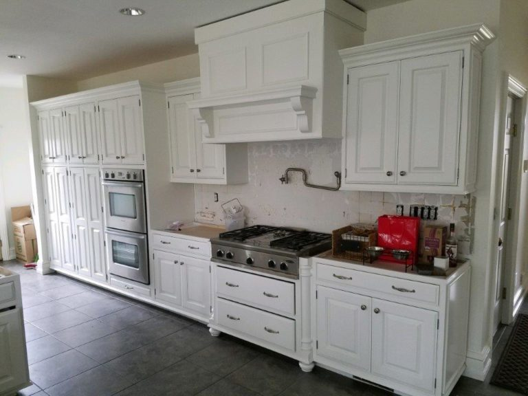 Cabinets after ELCO Painting cabinet painting