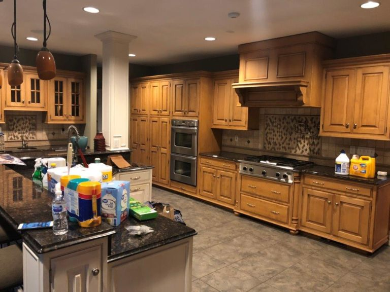 ELCO Painting kitchen cabinet refinishing in New England