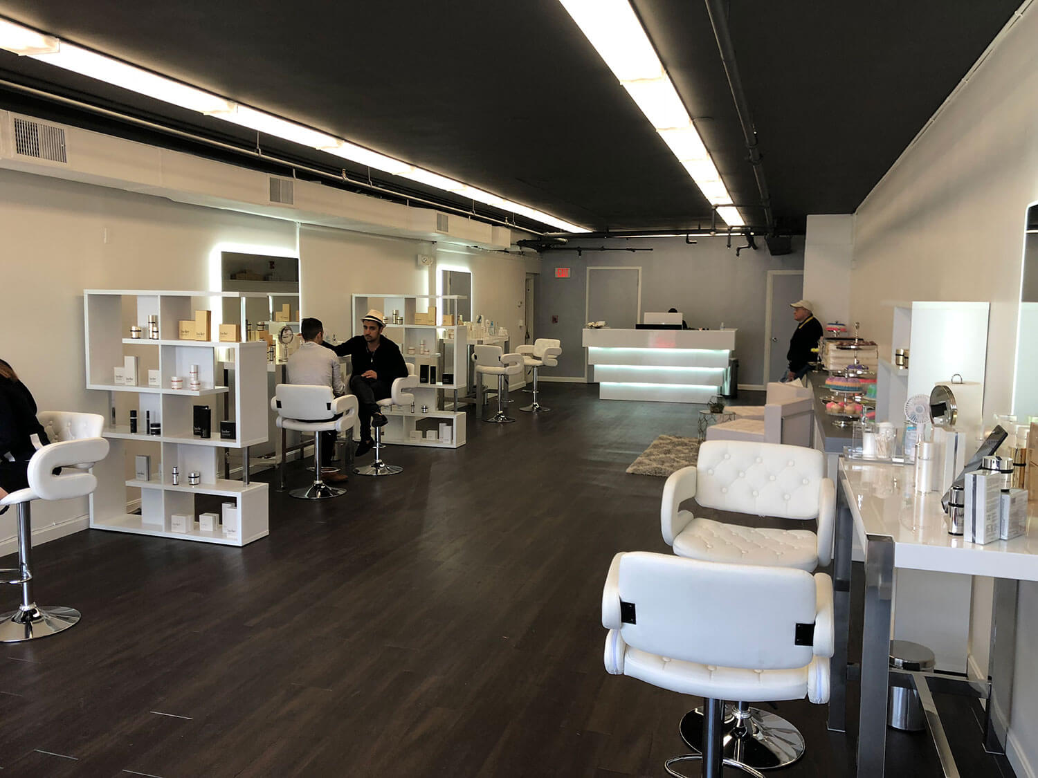 ELCO Painting commercial painting in a hair salon