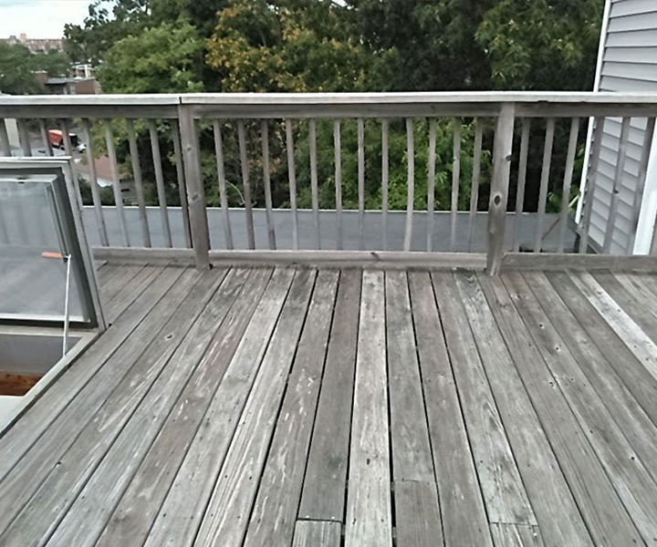 ELCO Painting deck staining cleaning service
