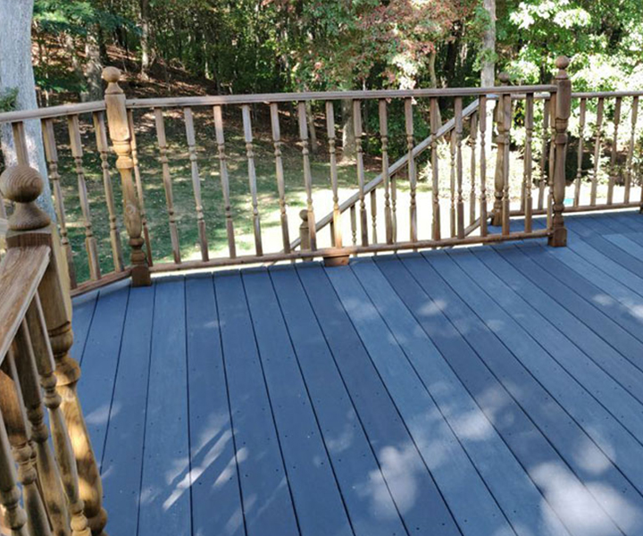 ELCO Painting deck maintenance staining service